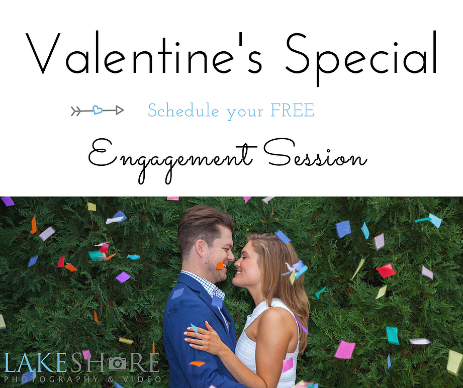 Valentine's Day Engagement Sessions